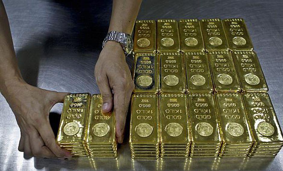 Los precios del oro han disminuido más de 12% desde abril. (Foto: AP)