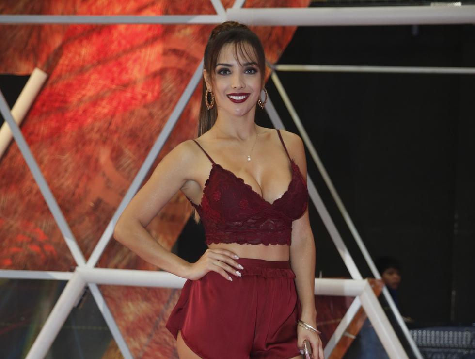 Rosángela Espinoza negó haber salido con Patricio Parodi. (Créditos: USI)