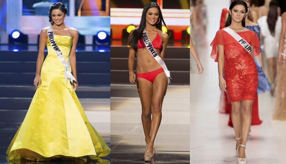 La más aplaudida en las presentaciones preliminares a la competencia fue Miss Filipinas. La hermosa modelo Ariella Arida, de 24 años, confesó que su papá era profesor de gimnasia. (Reuters/AP)