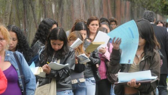 Nueve de cada diez peruanos no tiene un empleo decente, mencionó el titular del Ministerio de Justicia y Derechos Humanos, Eduardo Vega (Foto: GEC)
