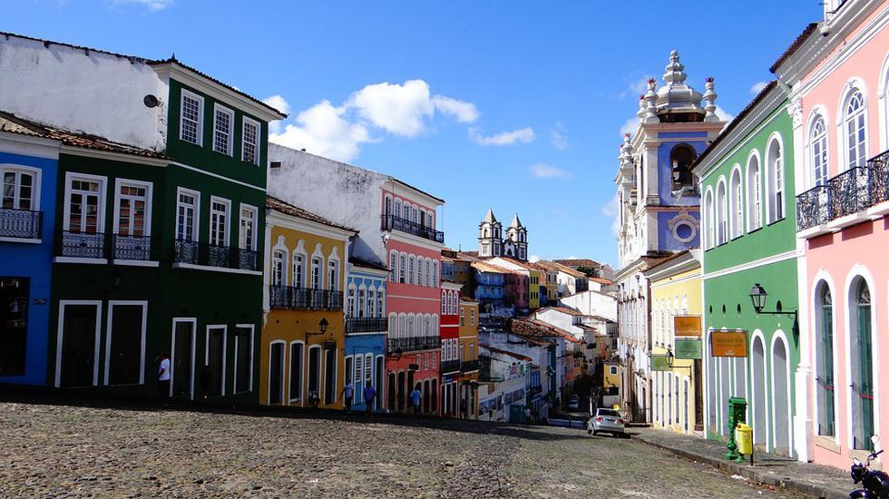 Las calles de Salvador de Bahía están llenas de historia. (Foto:Pixabay)