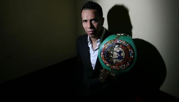 El héroe. Miguel Sarria sacrificó muchas cosas por el título. Pero valió la pena hacerlo, dijo. (Rochi León)