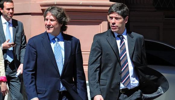 El vicepresidente argentino Amado Boudou recibió el respaldo de Juan Manuel Abal Medina. (AFP)