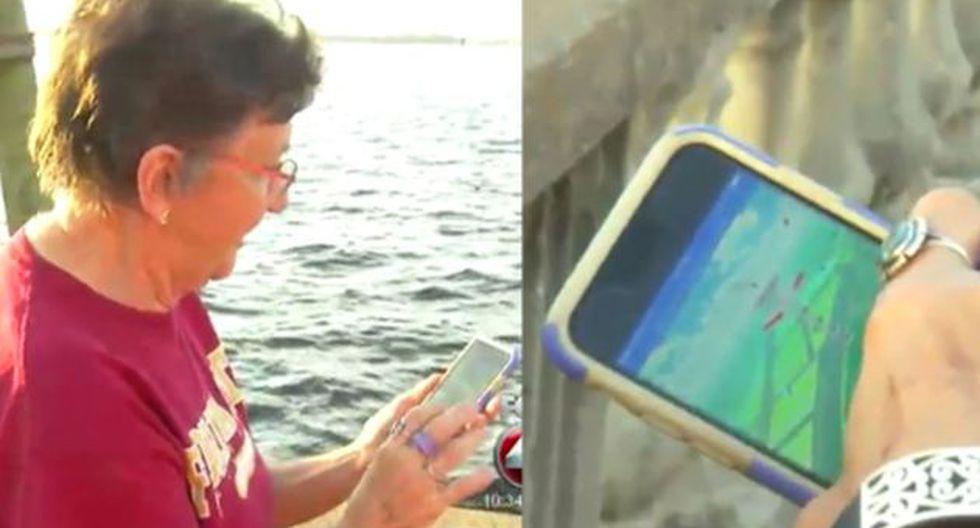 Pokemon GO: Abuela se contagió del juego tras ver jugar a sus nietos. (Fox)