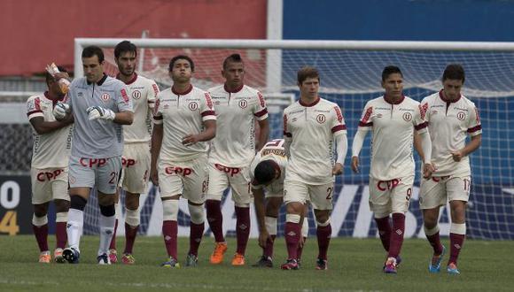 Universitario perdió 3-0 ante Atlético Paranaense en Brasil. (EFE)
