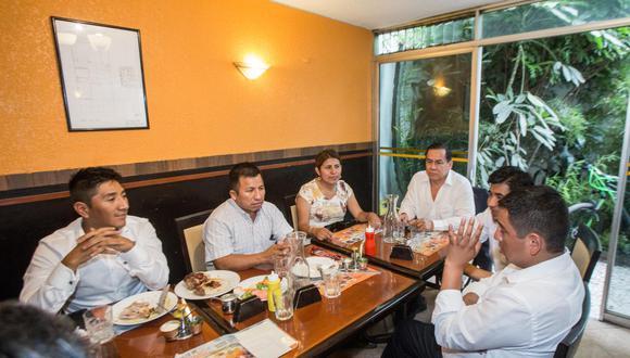 El acuerdo que adoptó por mayoría UPP dejó insatisfechos a los seguidores de Humala (César Zamalloa/GEC).