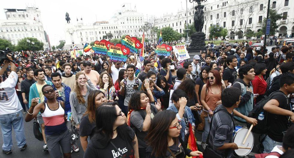 Más de un millón 700 mil peruanos adultos se identifican como comunidad LGTB, según encuesta Ipsos. (GEC)