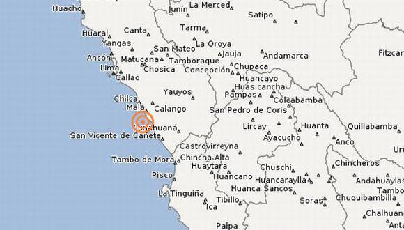 Leve sismo de 3.9 grados se sintió en Lima. (IGP)