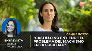 """Camila Bozzo: """"Castillo no entiende el problema del machismo en la sociedad"""""""