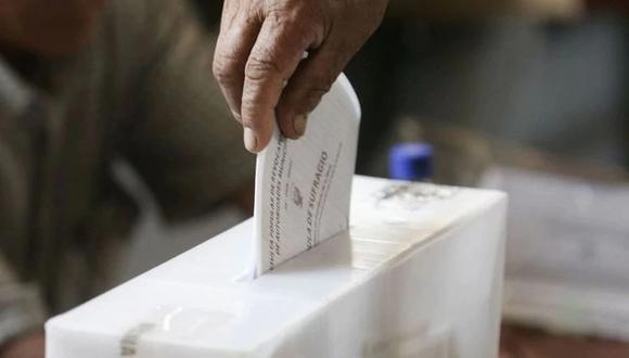 El voto protesta