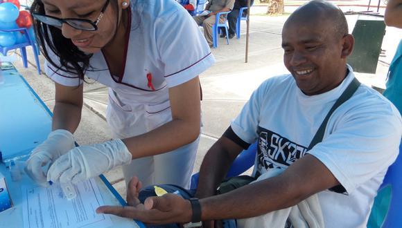 Realizarán pruebas gratis para diagnóstico de VIH este sábado en San Juan de Miraflores. (Foto: GEC)