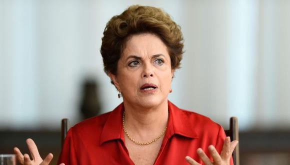 La suspendida presidenta de Brasil, Dilma Rousseff, solicita nuevas elecciones en su país (AFP).