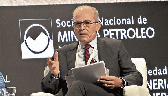 Sector. Benavides dijo que se requiere eficiencia y bajos costos. (USI)