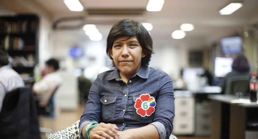 Gabriela Salvador va con el N°6 por Frente Amplio. (Mario Zapata/GEC)