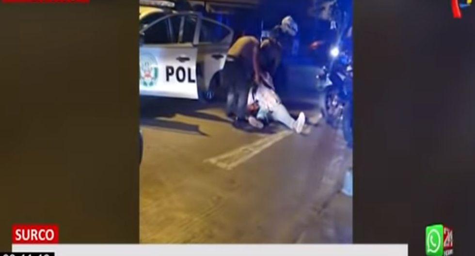 El sujeto presenta una herida de bala a la altura de la pantorrilla. (24 Horas)