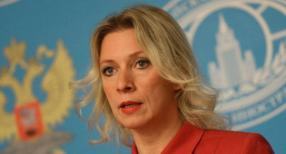 La portavoz del Ministerio de Exteriores de Rusia, María Zajárova. (Foto: EFE)