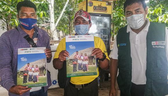 En los próximos días se entregará los títulos a la comunidad nativa Nueva Capirona, ubicada en el distrito de Datem del Marañón (Foto: Midagri)