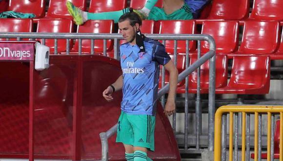 Gareth Bale quedó fuera de la lista de Real Madrid para medirse a Manchester City. (Foto: EFE)
