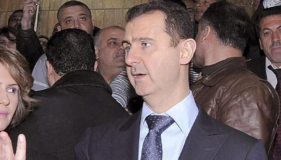 Assad firmó decreto que fija elecciones para el 7 de mayo. (Reuters)