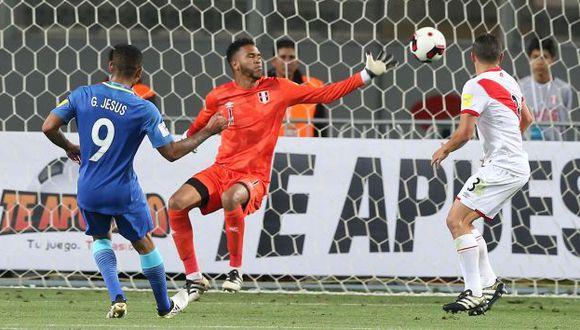Perú terminó el 2016 con una derrota ante Brasil. (EFE)