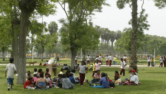 Parques zonales serán remodelados. (USI/Referencial)