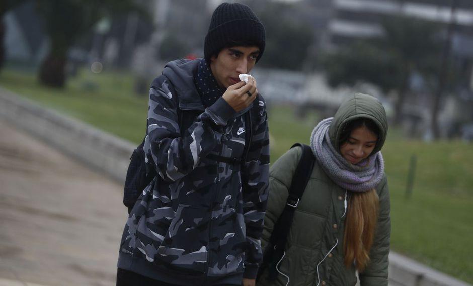 La sensación de frío se acentúa durante agosto. (GEC)