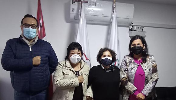 Alianza entre Somos Perú y el Partido Morado es ahora oficial. (Foto: Twitter)