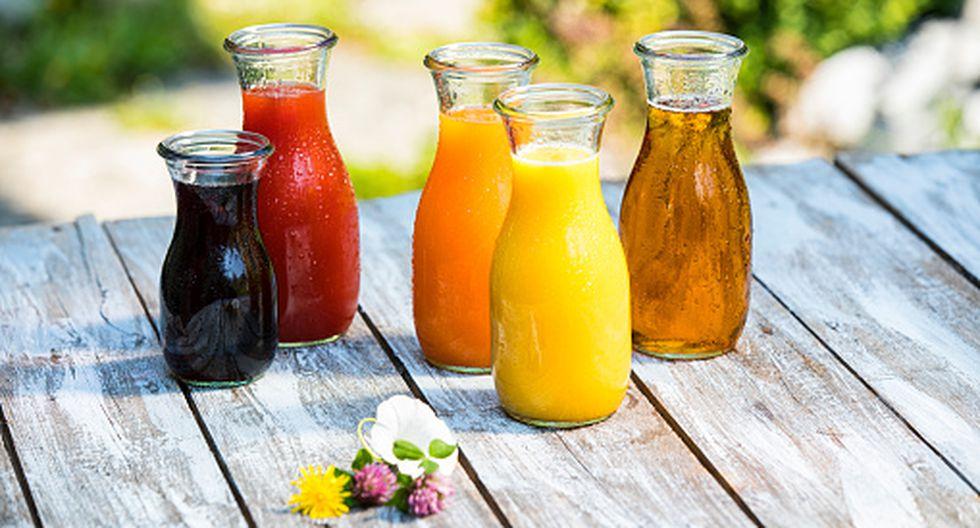 ¿El zumo de frutas es menos sano que la fruta misma? (Getty)
