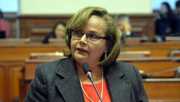 Rosa María Ortiz fue también jefa del Senace y expresidenta de Perú-Petro. (Foto: Congreso)