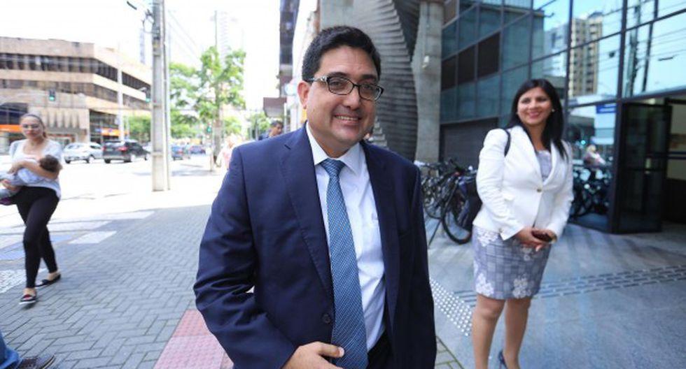 Procurador Jorge Ramírez estará en Tel Aviv del 23 al 28 de junio para participar en diversas diligencias. (Foto: GEC)