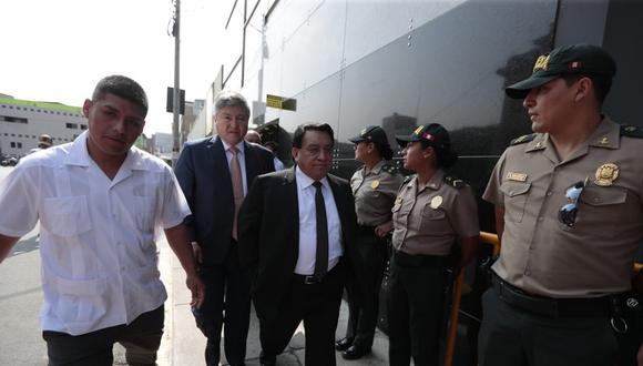 José Luna es investigado por liderar una organización criminal que capturó la ONPE. (Foto: Hugo Perez /Gec)