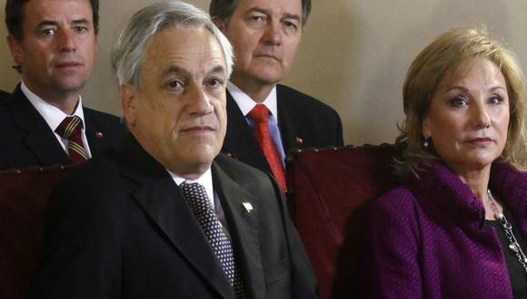 Sebastián Piñera liturgia por conmemoración de los 40 años del golpe. (EFE)