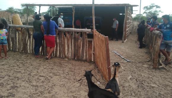 Piura: Ganadero es ahorcado con una cadena de metal en su casa del distrito de Tambogrande. Aparentemente, se habría enfrentado a delincuentes que ingresaron a robar a su vivienda. (Foto: Difusión)