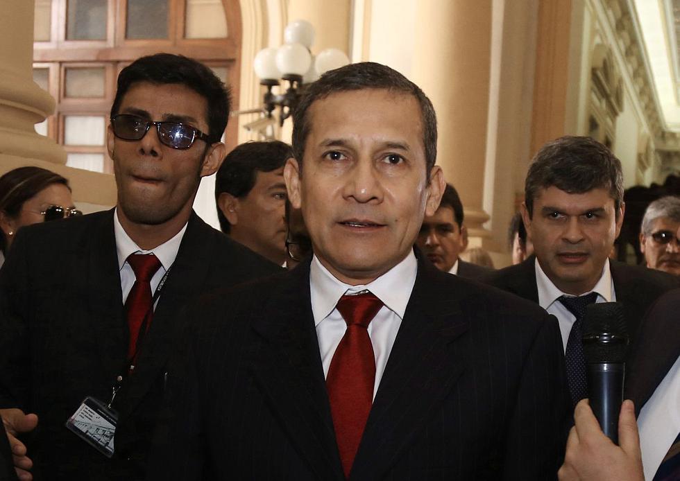 El ex presidente Ollanta Humala ha realizado viajes dentro del país para hacer labor política. (Foto: Congreso de la República)