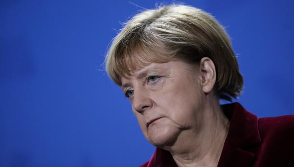 Angela Merkel, canciller alemana. (Foto: AP)