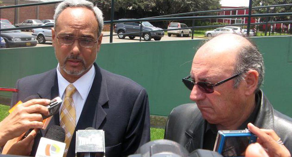 """""""Ante Colombia nos jugaremos la vida"""", dijo Burga. (USI)"""