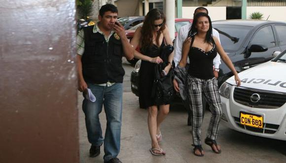 La modelo venezolana no puso trabas y cooperó a la hora de declarar ante la fiscal. (Kelvin García/USI)