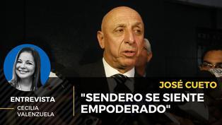"""José Cueto: """"Sendero se siente empoderado"""""""