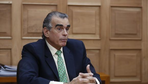 Pedro Olaechea, presidente del Congreso. (Foto: GEC)