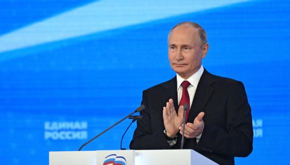 Vladimir Putin se sumó a las felicitaciones a Pedro Castillo luego de ser reconocido como presidente del Perú. EFE