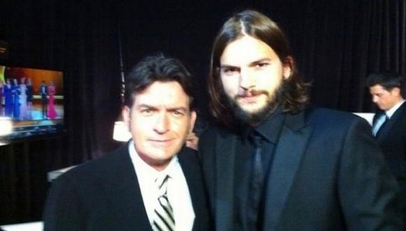 Posaron juntos en la ceremonia de los Emmy del 2011. (Twitter)