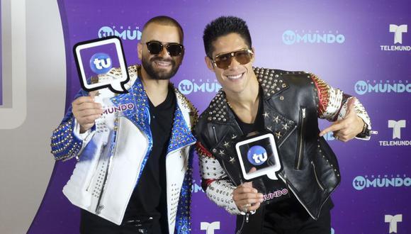 """Los cantante venezolanos mantienen una buena relación tras la separación del dúo """"Chino y Nacho"""". (Foto: EFE)"""
