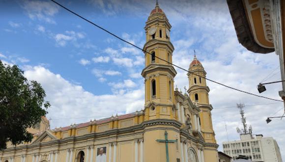 Catedral de Piura fue afectada tras sismo de 6,1 en Sullana. (Foto: Google Maps)