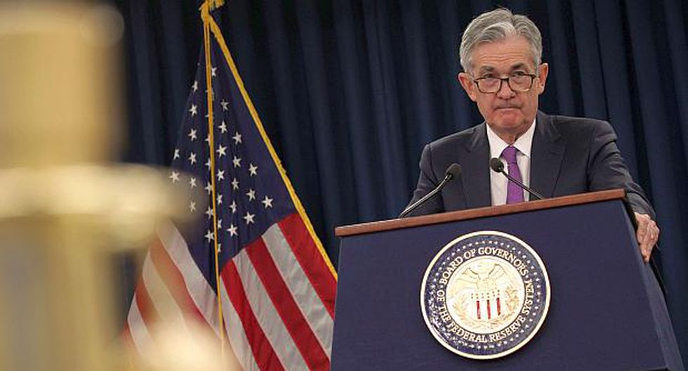 Jerome Powell, presidente de la Reserva Federal de Estados Unidos. (Foto: Reuters)