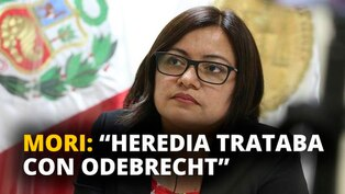 "Geovana Mori: ""Heredia trataba con Odebrecht"" [VIDEO]"