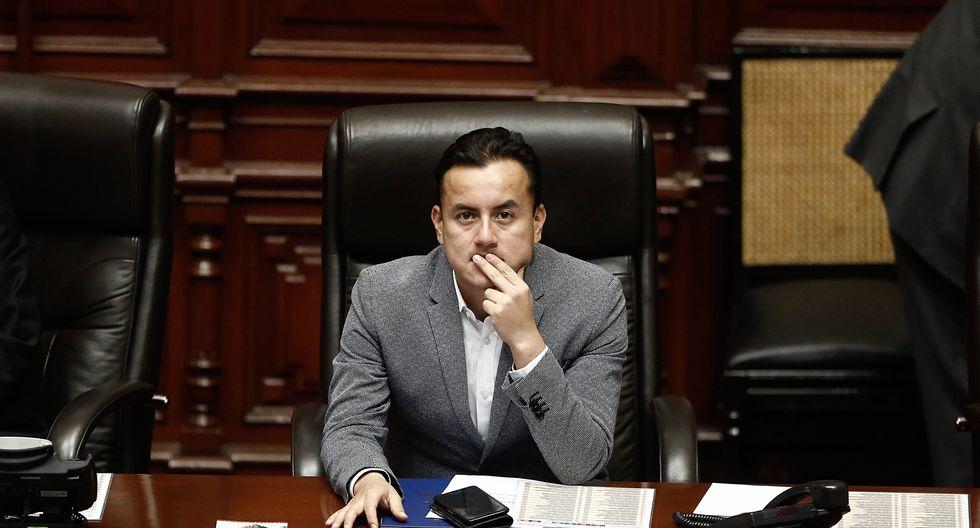 La Comisión de Levantamiento de Inmunidad Parlamentaria admitió el pedido para escuchar descargos de Richard Acuña.  (Cesar Campos)