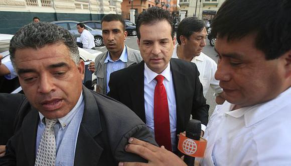 Omar Chehade solo espera concluir suspensión de 120 días para retornar al Parlamento. (Martín Pauca)