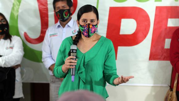 """Mendoza saludó que el mandatario haya anunciado medidas estrictas para contener el contagio del COVID-19 porque """"no se podía esperar un día más. (Foto: GEC)"""