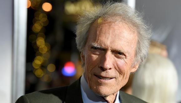 """La bebé fue dada en adopción sin el consentimiento de Clint Eastwood. La hija desconocida del actor fue presentada en sociedad en la premiere de """"La Mula"""". (Foto: AFP)"""