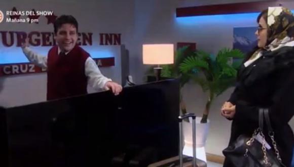 Germán Loero retorno a la serie 'De vuelta al Barrio' soprendiendo a su público. (Foto Captura de TV)